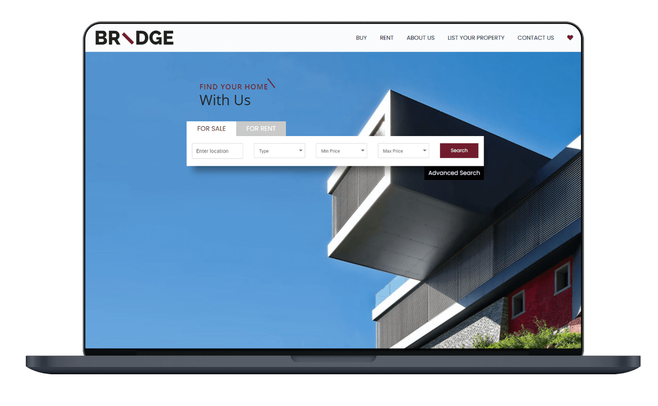 Bridge YourHome Real Estate Website