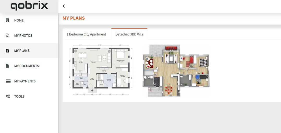 Access property plans through the Client Portal
