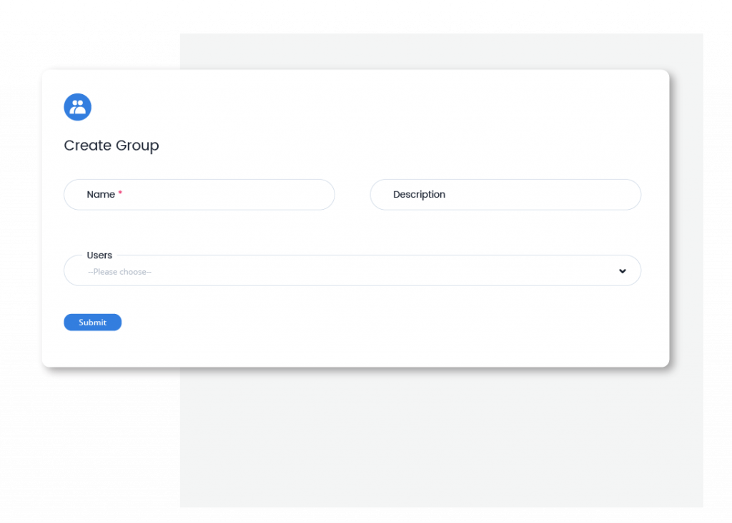 Qobrix CRM user management and user groups