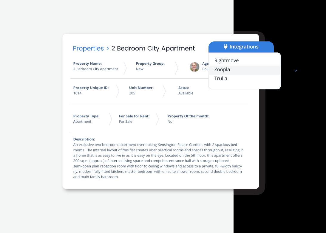 Qobrix CRM with Real Estate Portals integration