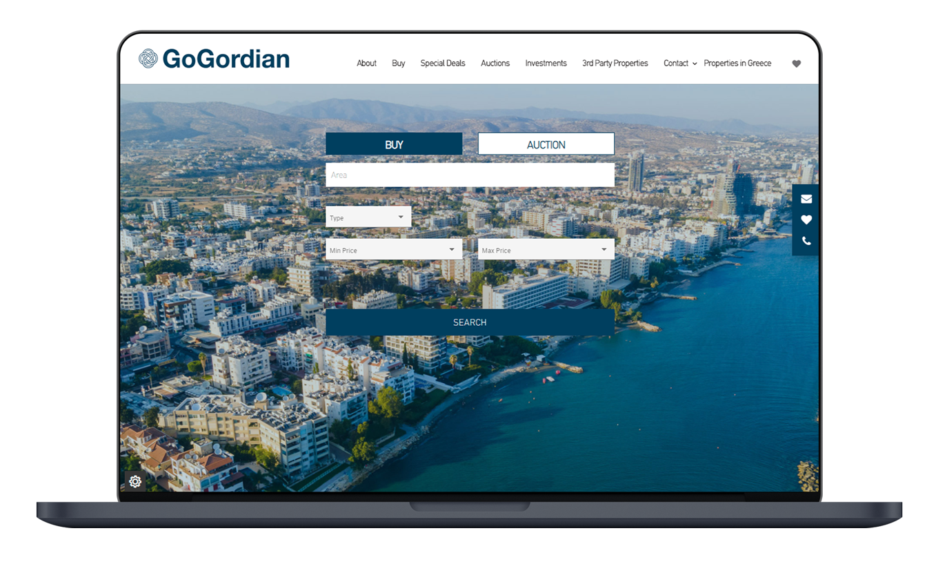 GoGordian Real Estate Website