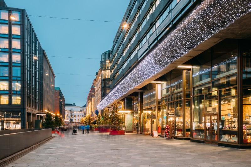 Commercial building type: retail building