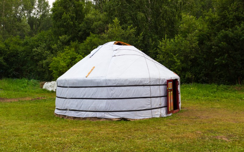 Unusual type of house - yurt